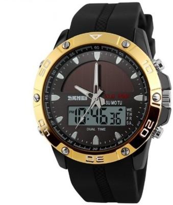 SKMEI Solar 1064 Analog-Digital Watch  - For Men