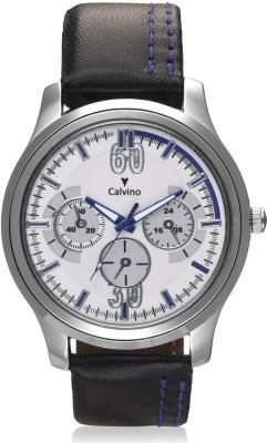 Calvino Cgas_1515524_blkwhite Stylish Analog Watch  - For Men