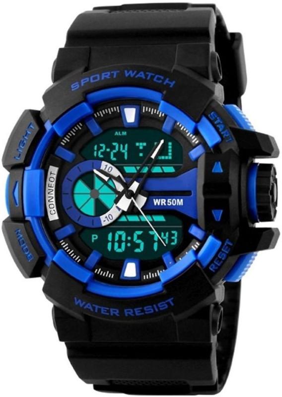PredictWay 1117BLU SKMEI Analog Digital Watch For Men