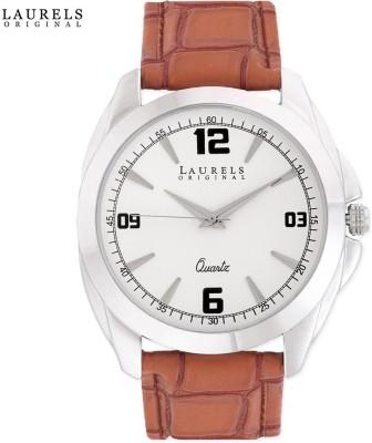 Laurels Lo-Dip-301 Diplomat 3 Analog Watch - For Men