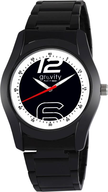 Gravity GXBLK98 Milano Analog Watch For Men WATEQN4GZACYEETF