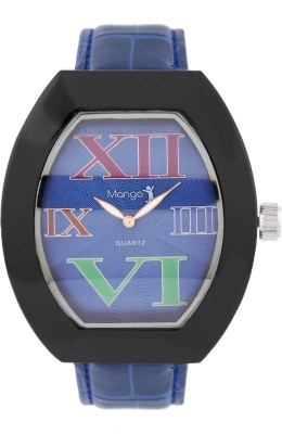 Mango People Blue Color Dial Analog Watch  - For Boys, Men