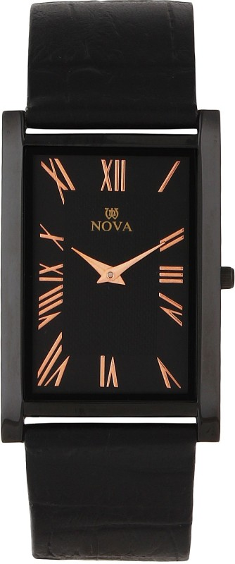 Nova FG SLIM CPR BLK 32 Rectangular Analog Watch For Men