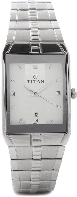 Titan NH9151SM01A Karishma Analog Watch For Men