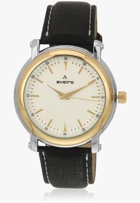 Aveiro AV57WHTBLKTT Analog Watch  - For Men, Boys