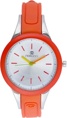 Perucci PC-3333Red Analog Watch  - For Women