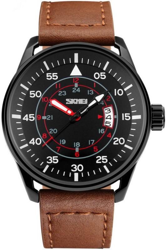 Skmei SZ9113BROWN Analog Watch For Men