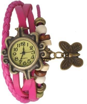 MyValueStore Butterfly single_300 Bracelet Look Analog Watch  - For Girls