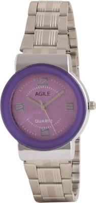 Agile AG227 Metallic Analog Watch  - For Women, Girls