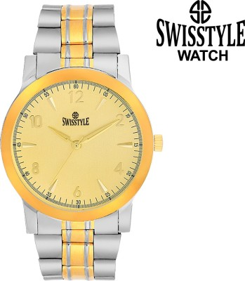 Swisstyle SS-GR1515-GLD-CH DAZZLE Analog Watch  - For Men