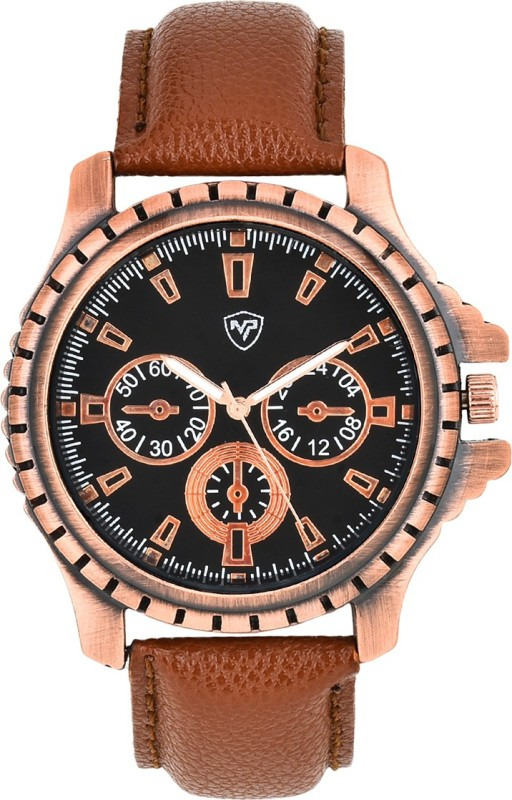 Mango People MP 2017 BKBR01 Analog Watch For Men