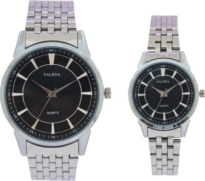 Faleda 6171PCHB Standred Analog Watch  - For Couple