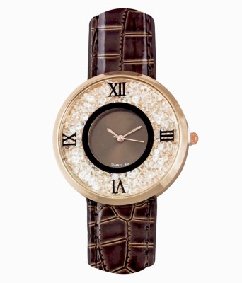 RBS Online Trading Company MovingBeeds_Roman_BROWN Analog Watch  - For Women, Girls