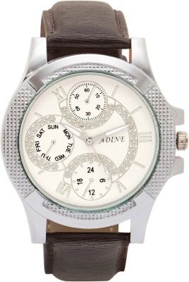 Adine ad-6012bw Analog Watch  - For Men