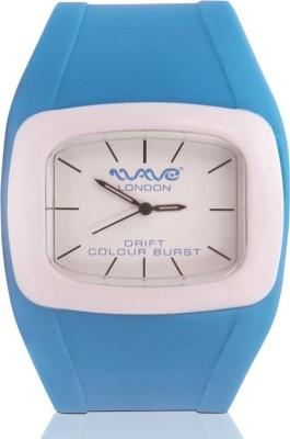 Wave London Wave London Drift Colour Burst Cyan & White Watch (Wl-Cb-Cyw) Drift Colour Burst Analog Watch  - For Women