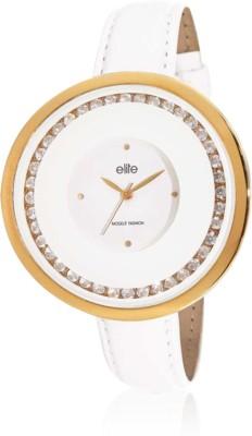 Elite E52892/201 Analog Watch  - For Women