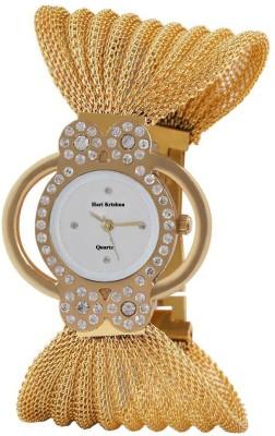 Hari Krishna Enterprise Glory Butterfly White Analog Watch  - For Girls, Women