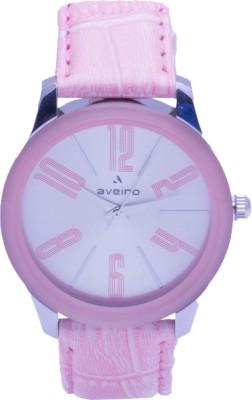 Aveiro Av88pnk Analog Watch  - For Women, Girls