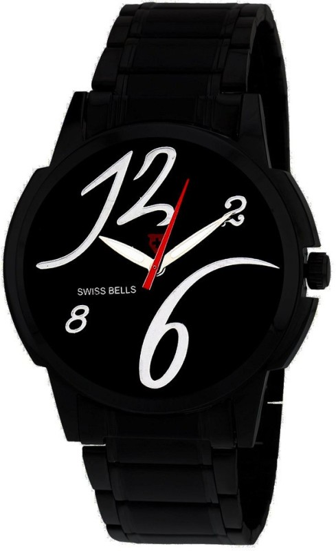 Svviss Bells TA 938BlkD Analog Watch For Men