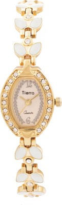 Tierra NGL-1041 Exotic Leaf Analog Watch  - For Women, Girls