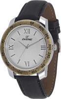 Dezine DZ-GR085-WHT-BLK Copper Analog Watch  - For Men