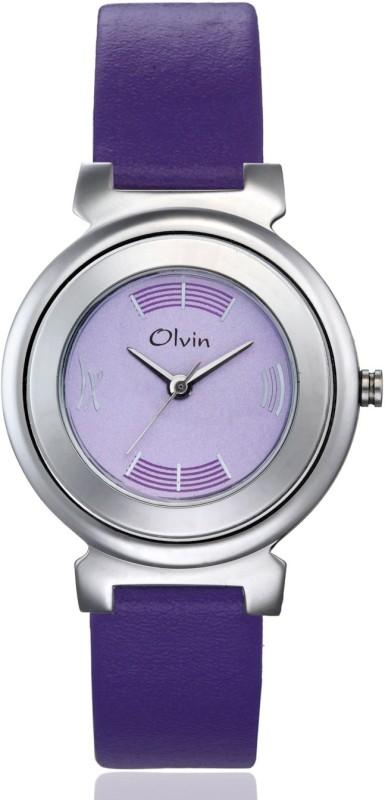 Olvin 16122 SL02 16112 SL Analog Watch For Women