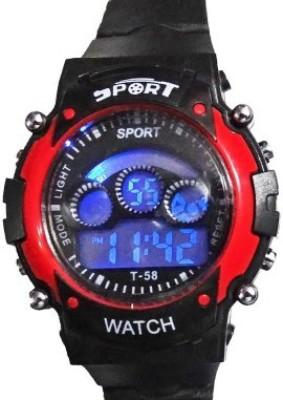 zDelhi.com Sports 7 Changable Display Color Digital Watch - For Boys, Girls, Men, Women