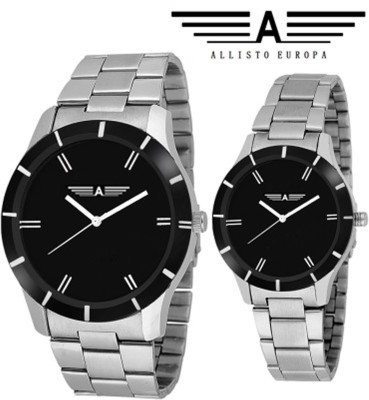 Allisto Europa AE08 Analog Watch  - For Couple, Women, Men, Boys, Girls