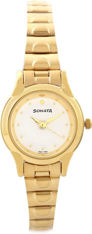 Sonata 8098YM01 Analog Watch For Women