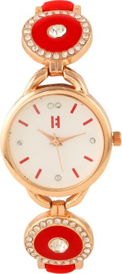 Excelencia CW-02-Red Elegance Analog Watch  - For Women