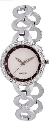 Madonna MDN-006-SS-BRN Analog Watch  - For Women