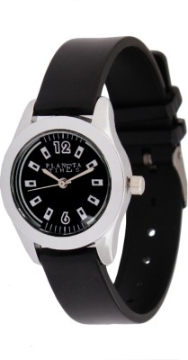 Planeta Times PLT-037-L-BLK Analog Watch  - For Women