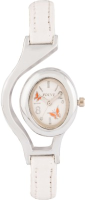 Adine AD-1302 WHITE-WHITE Fasionable Analog Watch  - For Women