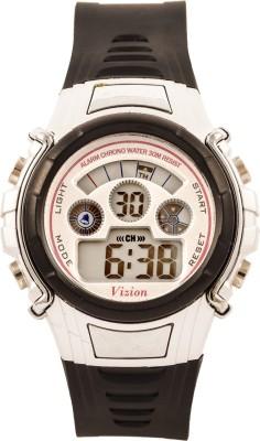 Vizion 8515B-5BLACK Cold Light Digital Watch  - For Boys, Girls