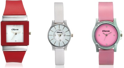 Oleva OPUC-10 Analog Watch  - For Girls, Women