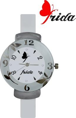 Frida NewLatest Fashion Fancy Beautiful Best Selling Qulity White looks Offer Deal Sasta Chepest Collection Designer Wrist06 Analog Watch  - For Women, Girls