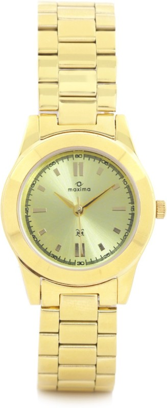 Maxima 34704CMLY Analog Watch For Women