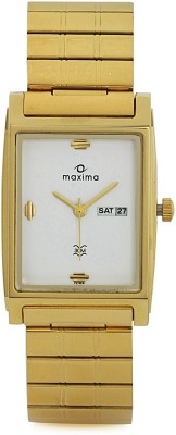 Maxima 13164CMGY Analog Watch  - For Men