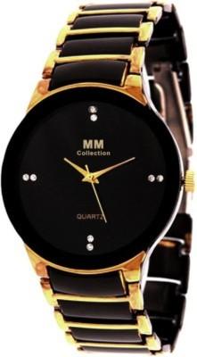 MM IIK Golden Analog Watch  - For Men, Boys