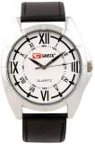 Gansta GT101-4-Wht-Blk Analog Watch  - F...