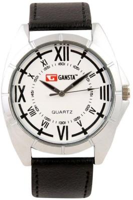 Gansta GT101-4-Wht-Blk Analog Watch  - For Men, Boys