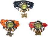 Adino Butterfly Vintage Analog Watch  - ...