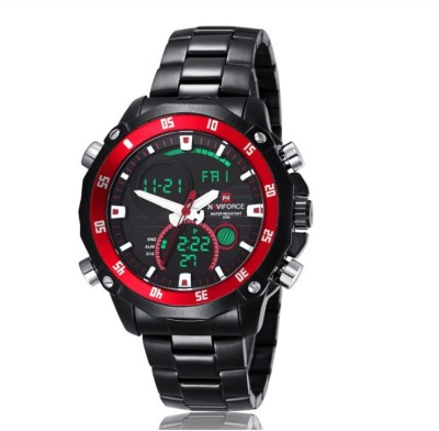 Naviforce NAV9030BBR Sports Analog-Digital Watch  - For Men