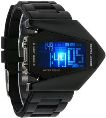 Gopal Retail DigitalBlackGP Analog-Digital Watch  - For Men