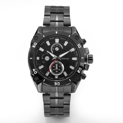 Halei HLBLK216516 Abacus Analog Watch  - For Men
