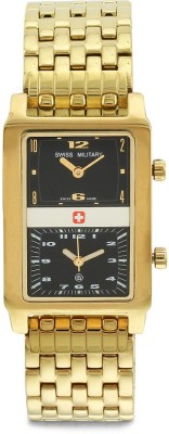 Swiss Military 519 DUAL/GLD ROYAL MEN Analog Watch  - For Men