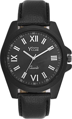 Youth Club Ultimate Blacky Analog Watch  - For Men, Boys