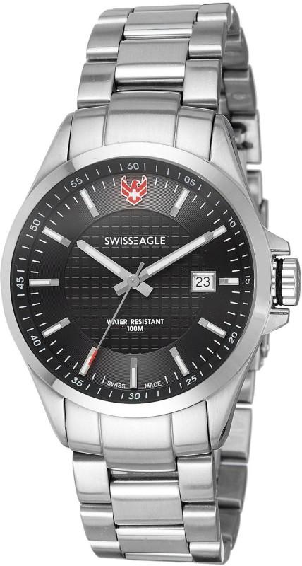 Swiss Eagle SE 9035 11 Field Analog Watch For Men
