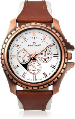 BY Bribe Yourself c211 Coup Analog Watch  - For Men