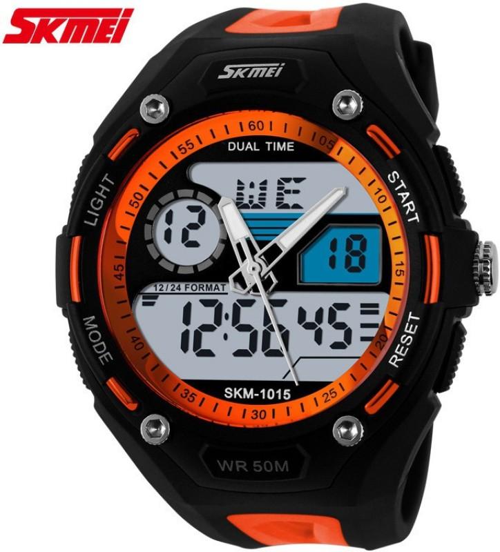 Skmei Dual Display Multifunction 1015 S Shock Analog Digital Watc